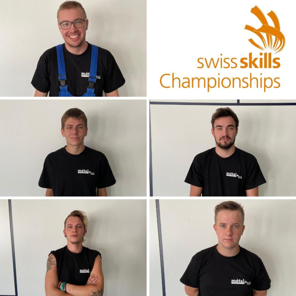 Wir stellen vor: Die Kandidaten der SwissSkills aus der Westschweiz